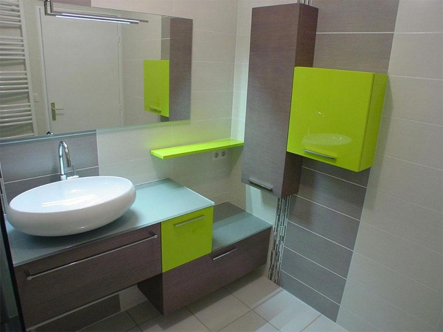 d co bains aubi re vous propose une salle de bains cl s en main. Black Bedroom Furniture Sets. Home Design Ideas